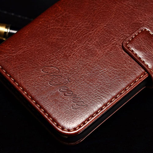 Wallet Style Flip Display Stand Card Slot PU Leather Case