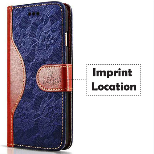 Leather 3D Touch Flowers Card Slot Stand Design Cover