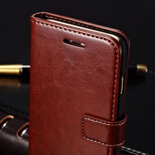 Stand Wallet Card Slot Flip Book Phone Cover