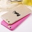 Luxury Soft Feeling Silk Ultra Thin Phone Back Cover