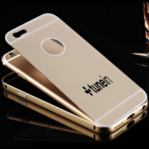 Acrylic Glass Metal Hard iPhone (All Model) Case