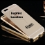 Acrylic Glass Metal Hard iPhone (All Model) Case Imprint Image
