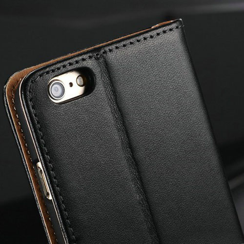 Genuine Flip Leather Wallet Card Holder Phone Bag Cover
