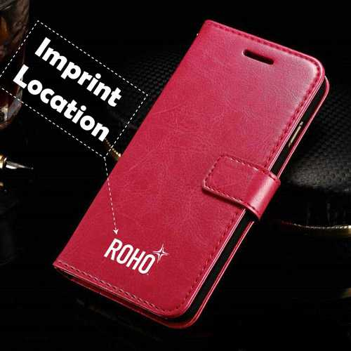 Flip Cover iPhone (All Model) Cases With Card Slot Imprint Image
