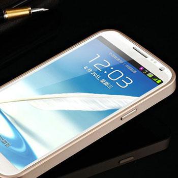 Luxury Aluminium Metal Acrylic Panel Cover Phone Shell