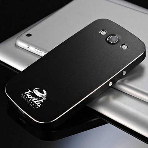 Screw Luxury Aluminum Case Metal Matte Phone Cover