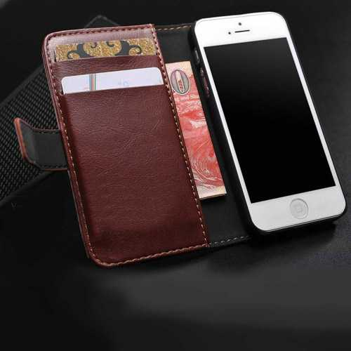 5S 5g Luxury Stand Design With Credit Card Slot Case
