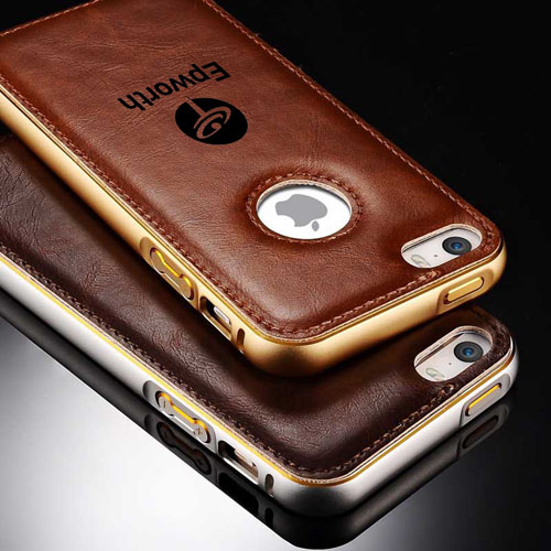 PU Leather Aluminum Metal Frame Business Style Cases
