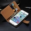 5S Flip Stand Design Wallet with Card Slot Book Style