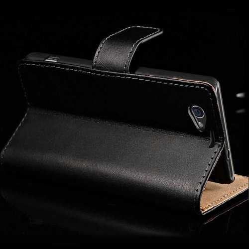 Z1 Genuine Leather Compact Stand Wallet Style