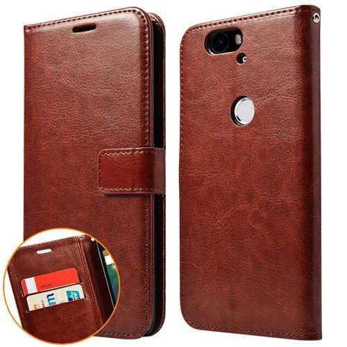 6P Flip Wallet PU Leather Case Nexus 6P Phone Bag