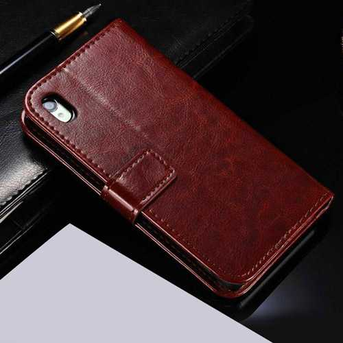Sony Z4 Flip With Card Slot Stand Design Phone Cover