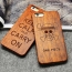 Luxury Wooden Pattern Mobile Phone Case