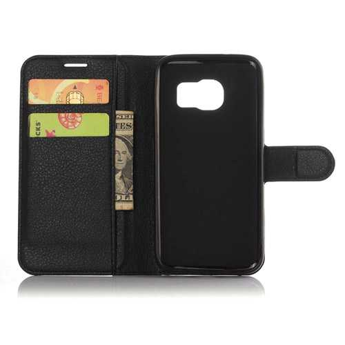 Vintage S7 Edge Phone Case With Card Holder