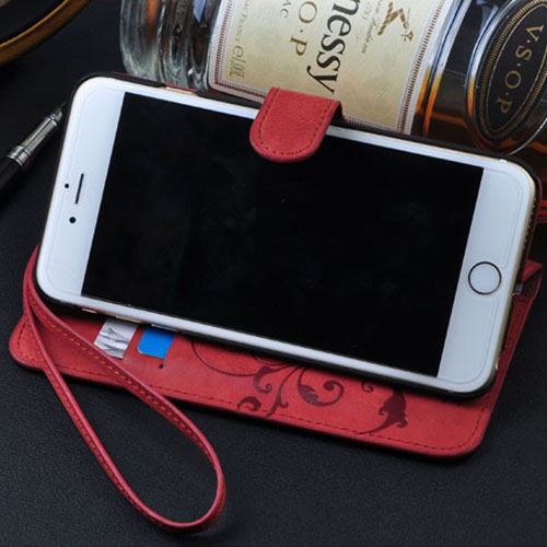 Leather Luxury Flip Mobile Phone Wallet Case
