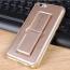 Adjustable Stand TPU PU Side Bottom Mobile Phone Cover