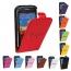Vertical Flip Plastic Cow Split Magnetic Leather Phone Case