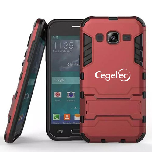 Samsung Future High-tech 2 in 1 Hybrid Armor Phone Case Image 1
