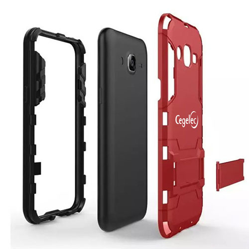 Samsung Future High-tech 2 in 1 Hybrid Armor Phone Case Image 3
