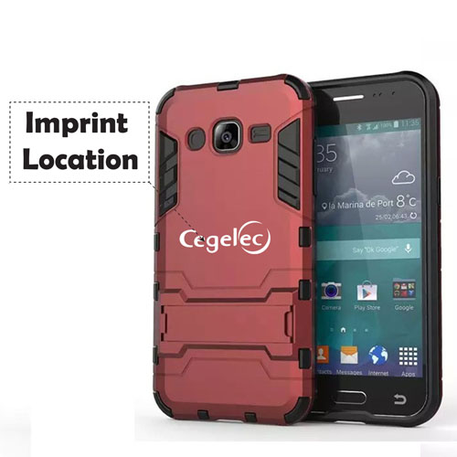 Samsung Future High-tech 2 in 1 Hybrid Armor Phone Case Imprint Image