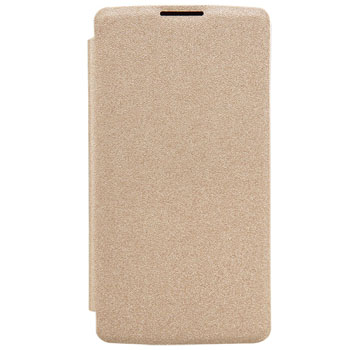 Ultra-Thin Leather Hard PC Shell Flip Phone Case
