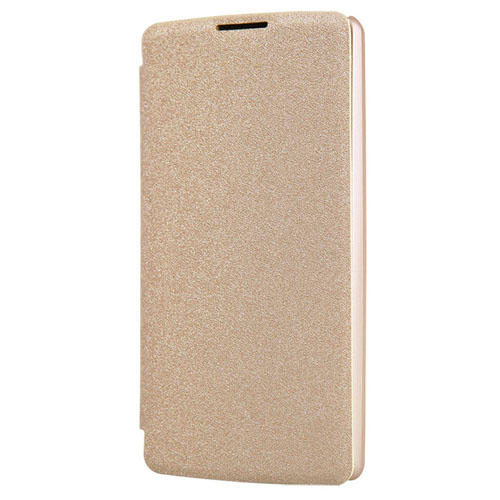Ultra-Thin Leather Hard PC Shell Flip Phone Case
