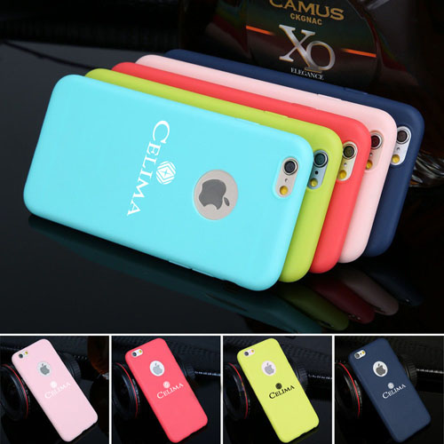 iPhone (All Model) Cute Candy Soft TPU Silicon Fashion Back Case Image 1