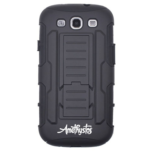 Rugged Impact Belt Clip Holster Shock Proof Phone Case