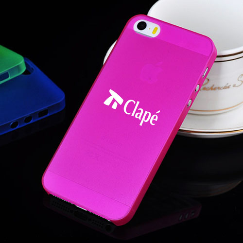 Ultra Thin Matte Frosting Transparent Hard Mobile Phone Bags