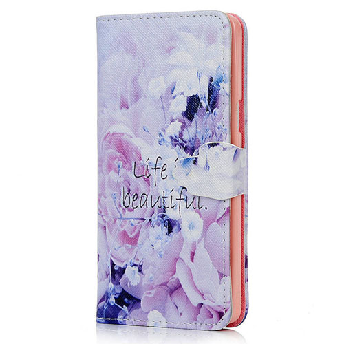 Fashion Pattern PU Leather Wallet Flip Stand Case Cover