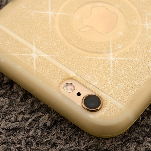 TPU Soft Shining Golden Bling Cover Mobile Phone Cover