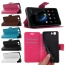 Ultra Thin PU Leather Flip Wallet Stand Cover Case