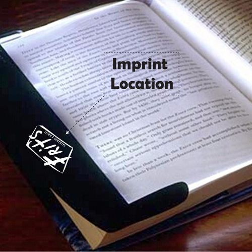 Creative Fashion LED Nightlight Book Reading Light Imprint Image