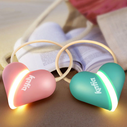 Heart Lamp Rechargeable Light Bulb Foldable LED Light Image 4