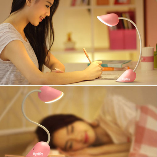 Heart Lamp Rechargeable Light Bulb Foldable LED Light Image 5