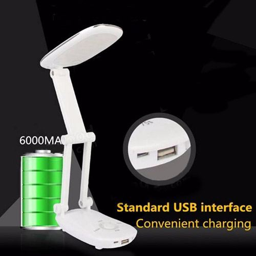 Multi Function Folding USB 21 LED Touch Sensor Lamp Image 1