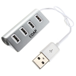 USB 2.0 Splitter 4 Port Adapter HUB