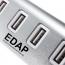 USB 2.0 Splitter 4 Port Adapter HUB Image 3