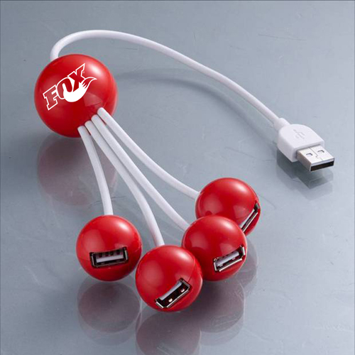 Cherry USB 2.0 4 Port Hub