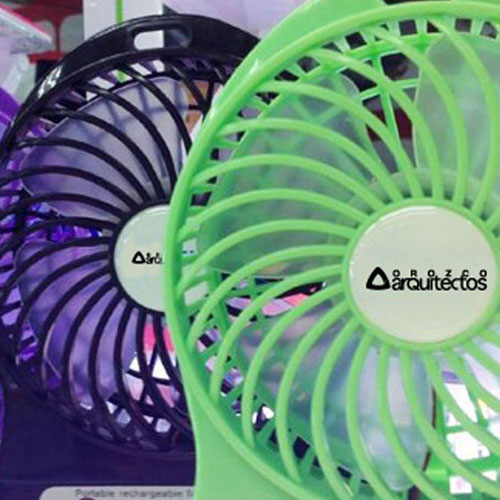Mini Portable USB Rechargeable Fan Image 4