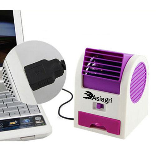 Mini USB Turbine Desk Fan Image 2