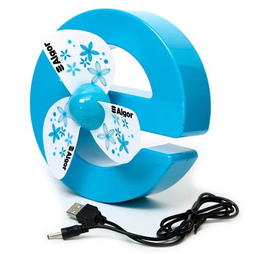 E-Shaped USB Mini Fan
