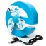 E-Shaped USB Mini Fan Image 1