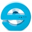 E-Shaped USB Mini Fan Image 2