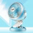 360 Rotation Mute USB Electrical Clamp Fan
