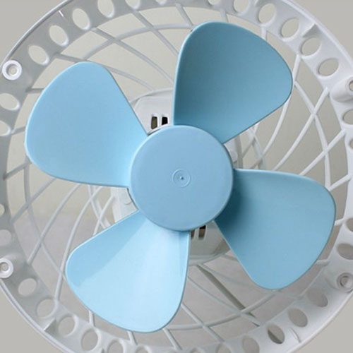 360 Rotation Mute USB Electrical Clamp Fan Image 4