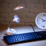 USB LED Table Lamp With Fan Image 2