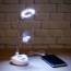 USB LED Table Lamp With Fan Image 3
