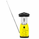 Solar Lantern Tent Light With Radio