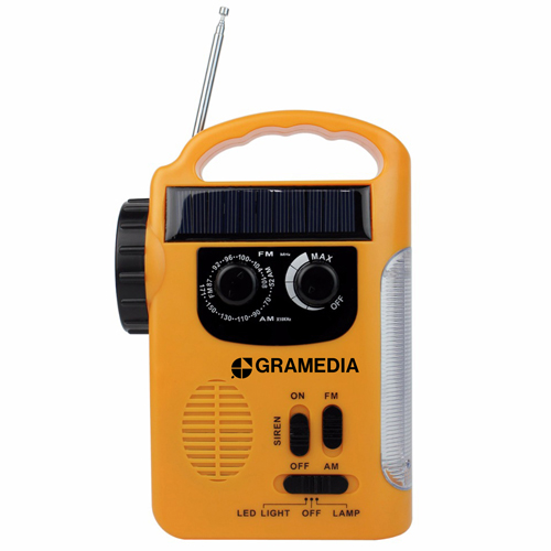 Solar LED Lantern With FM / AM Radio